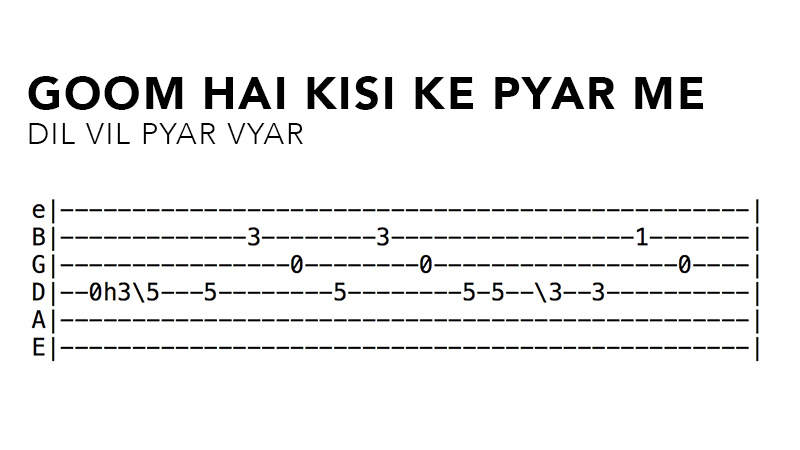 Hindi Guitar Tabs Of 9 Iconic Bollywood Song Guitar Riffs Hindi guitar melodies playlist songs are in hindi language. iconic bollywood song guitar riffs
