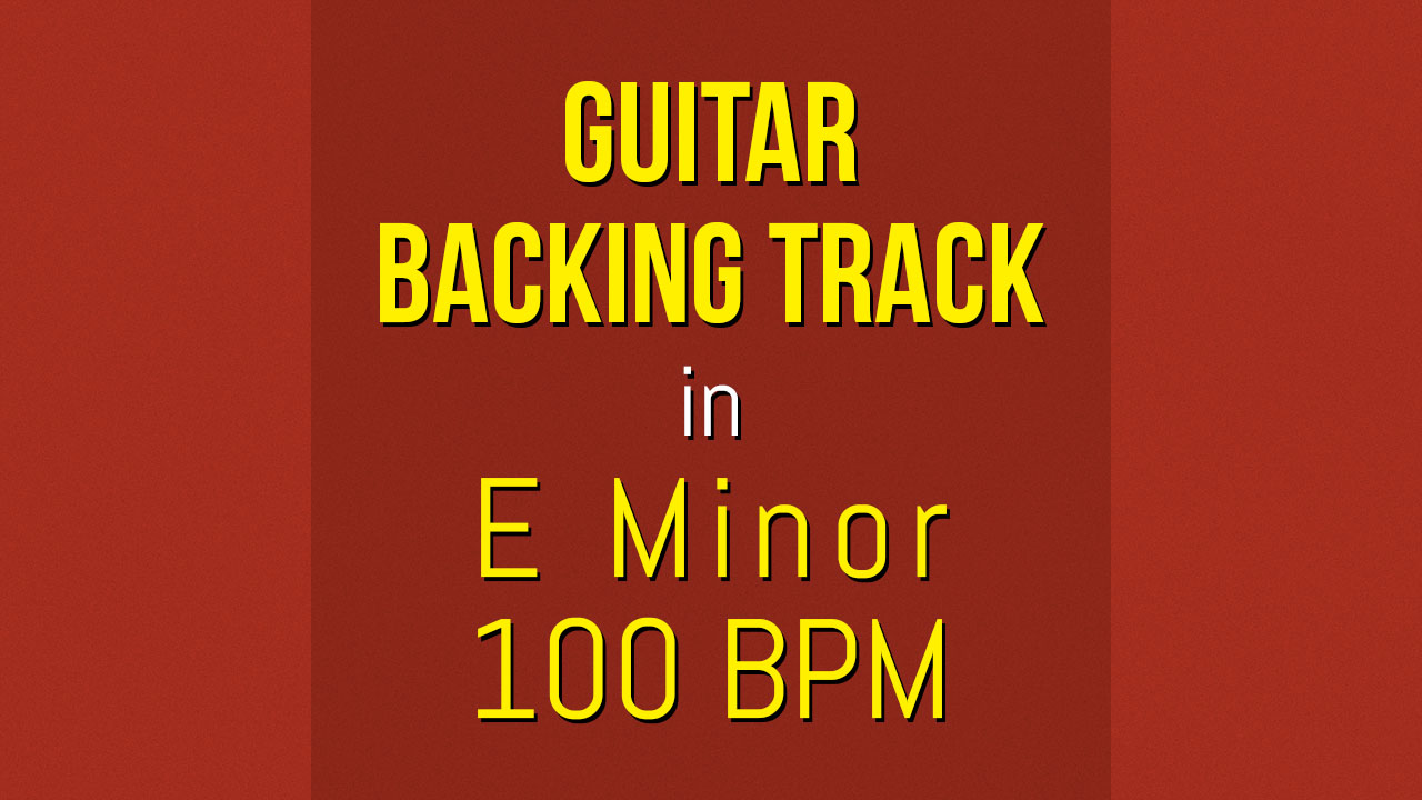 backing track guitare youtube